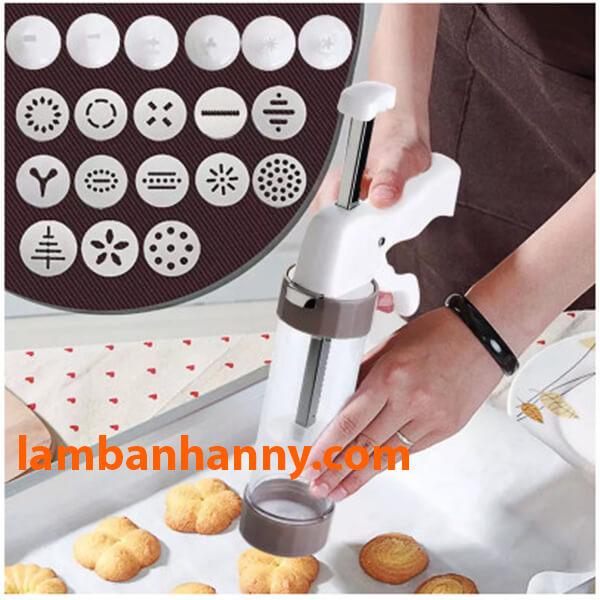 Cookie Press với 13 mặt họa tiết sáng tạo tiện dụng