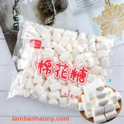 Kẹo dẻo marshmallow trắng Erko 500g 1