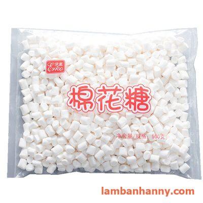Kẹo dẻo marshmallow trắng Erko 500g 2