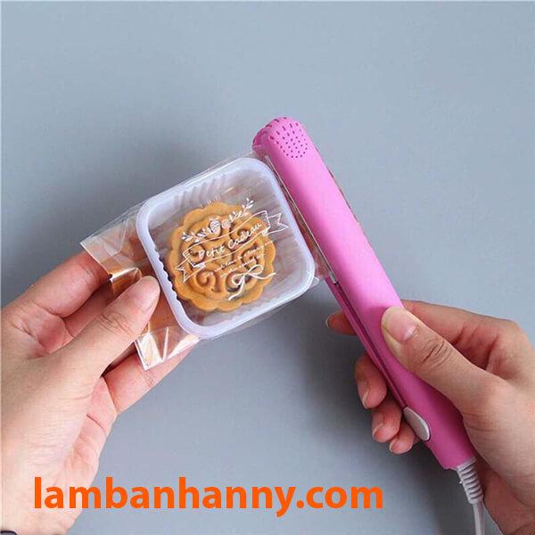 Máy hàn miệng túi rất dễ sử dụng