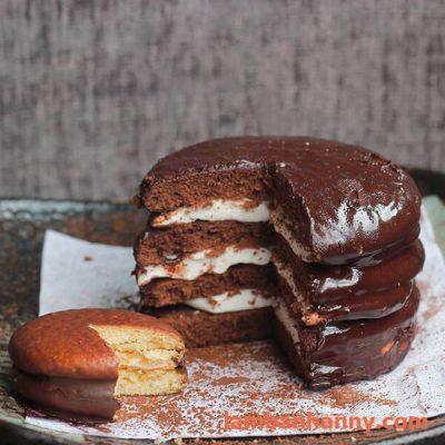 bánh chocopie mềm mịn thơm ngon