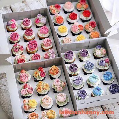 hộp đựng bánh cupcake 12 ô