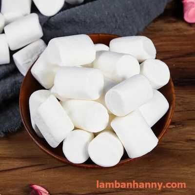 kẹo dẻo Marshmallow trắng-trắng hồng 120g 2