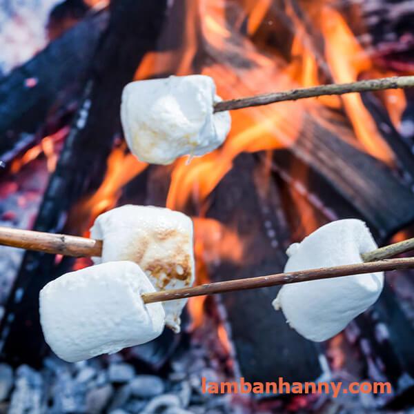 marshmallow nướng