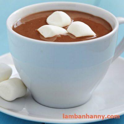 uống chung với cacao nóng