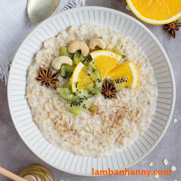 Ăn sáng lành mạnh cùng với Yến mạch cán dẹt