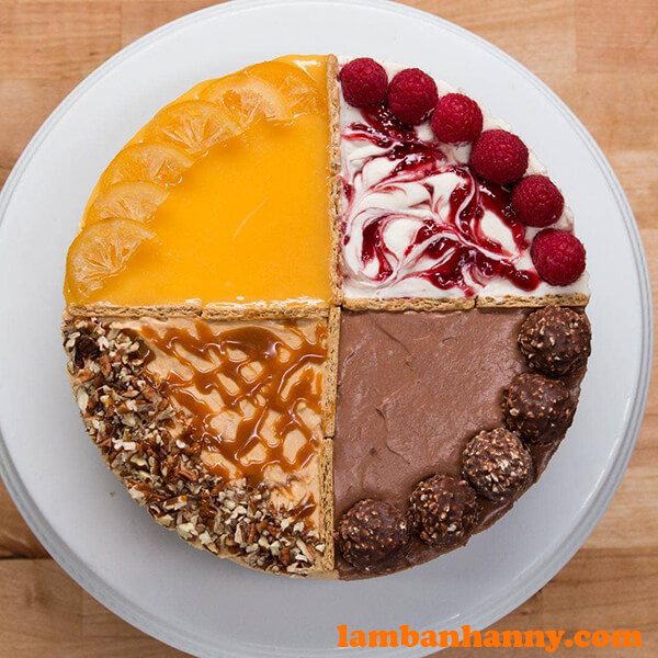 4-Flavor Cheesecake