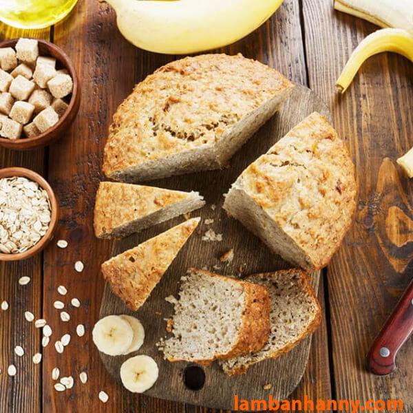 Bánh chuối yến mạch