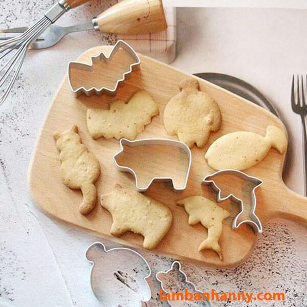 Bánh quy hình con cá trong bộ sưu tập bánh cookies động vật biển
