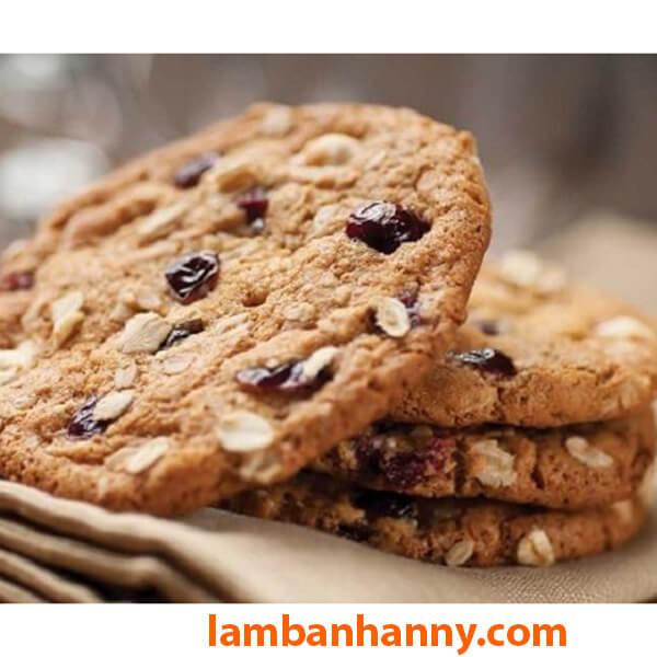 Bánh quy yến mạch cho bữa sáng hoàn hảo