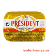 Bơ lạt President 10g