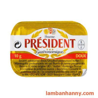 Bơ lạt President 10g 2