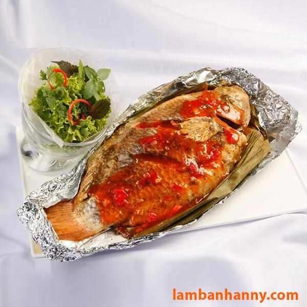 Bạn đã thử món cá nướng than được bọc bằng giấy bạc chưa