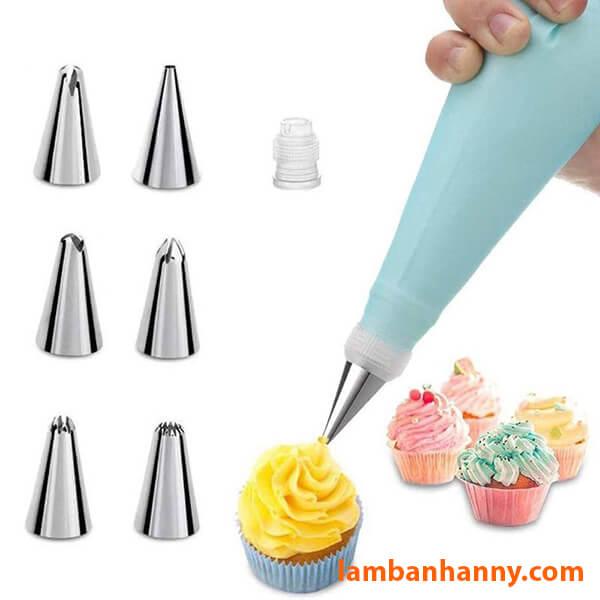 Bộ đui bắt kem (bao gồm bao và chốt)