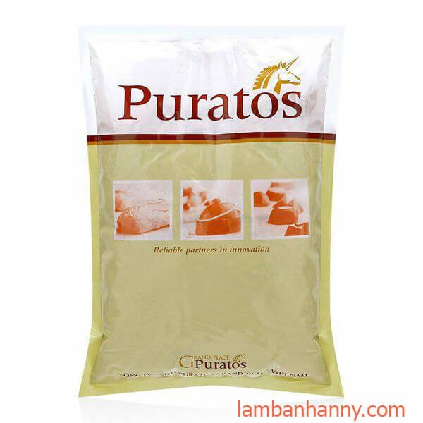 Bột trộn sẵn bánh Red Velvet Puratos