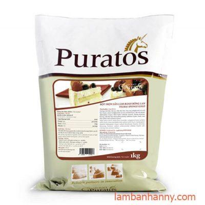 Bột trộn sẵn bánh bông lan Puratos