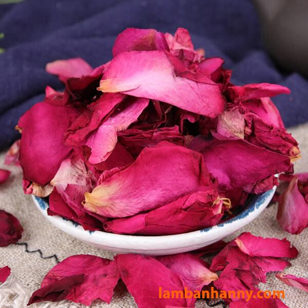 Cánh hoa hồng sấy khô
