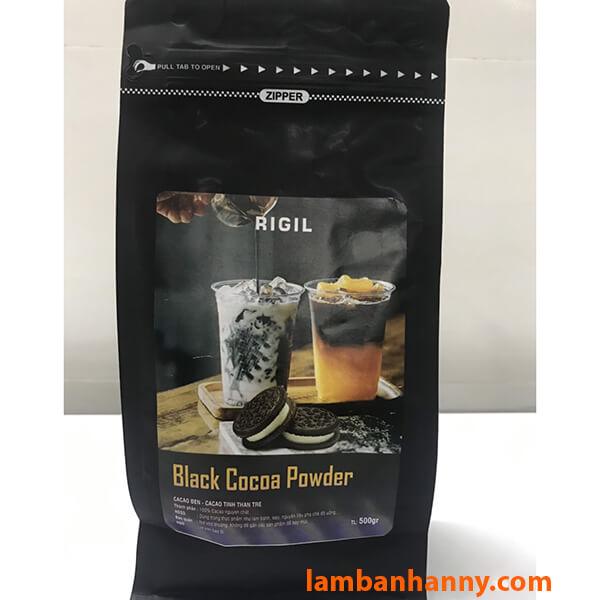 Bột cacao đen nguyên chất Rigil
