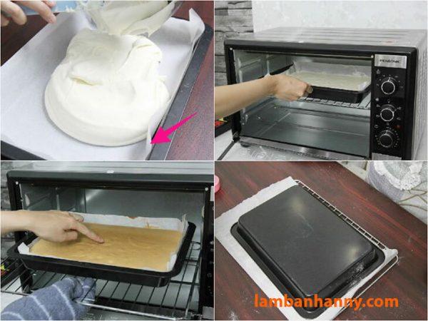 Giấy nến giúp chống dính khuôn, lấy bánh ra dễ dàng hơn