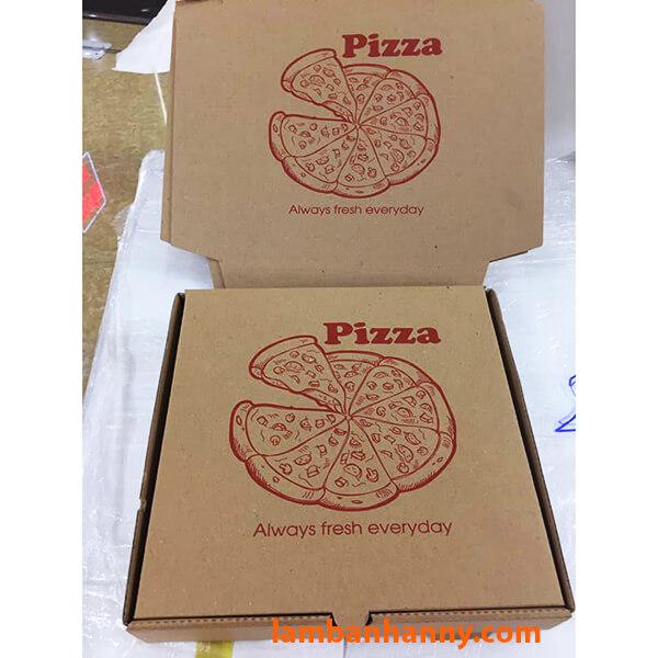 Hộp đựng bánh Pizza kích thước 24cm