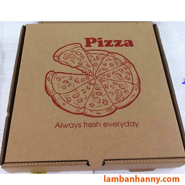 Hộp đựng bánh Pizza size 24cm