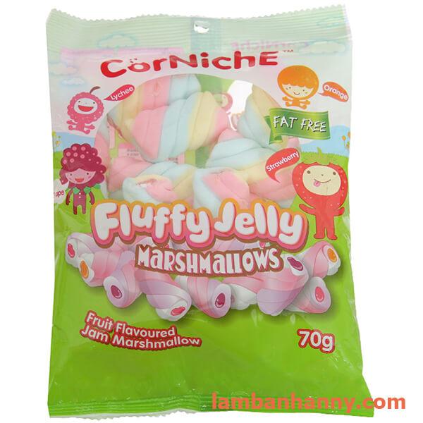 Kẹo Marshmallows thạch xoắn CorNiche 70g 3