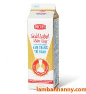 Kem tươi Topping Gold Label Rich's 907g