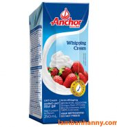 Kem tươi Whipping Cream Anchor 250ml