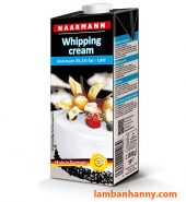 Kem tươi Whipping Cream Naarmann 1L