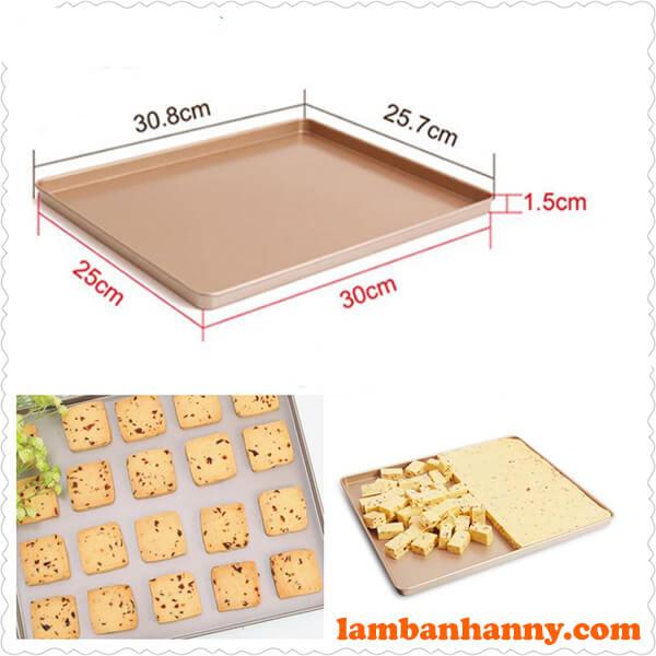 Khay nướng bánh Chefmade 30,6cm x 25,6cm