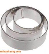 Khuôn Ring làm bánh Mousse tròn Size 12-26cm