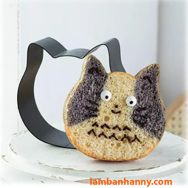 Khuôn cutter nhôm hình mặt mèo-1