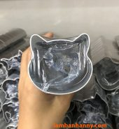 Khuôn cutter nhôm hình mặt mèo