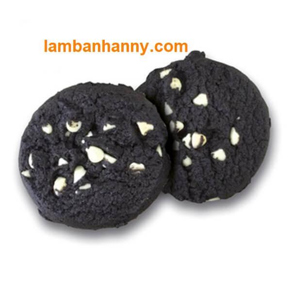 Lạ mắt với bánh Spanish Cacao Cookies kết hợp socola chip trắng