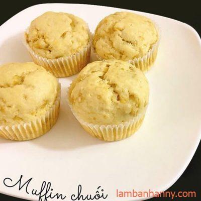 Muffin-chuối