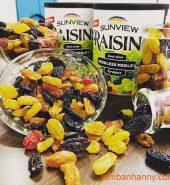 Nho khô Raisins Mỹ 390g