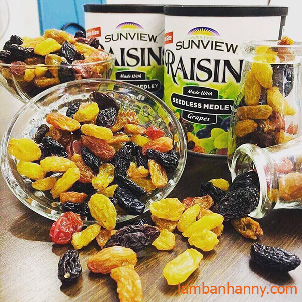 Nho khô Raisins Mỹ