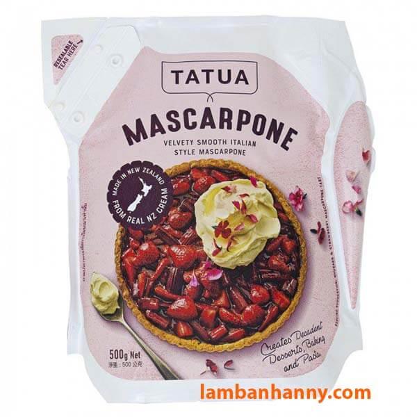 Phô mai Mascarpone Tatua 500g
