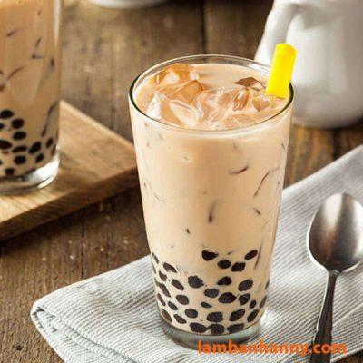 Pha trà sữa tại nhà với sữa bột nguyên kem