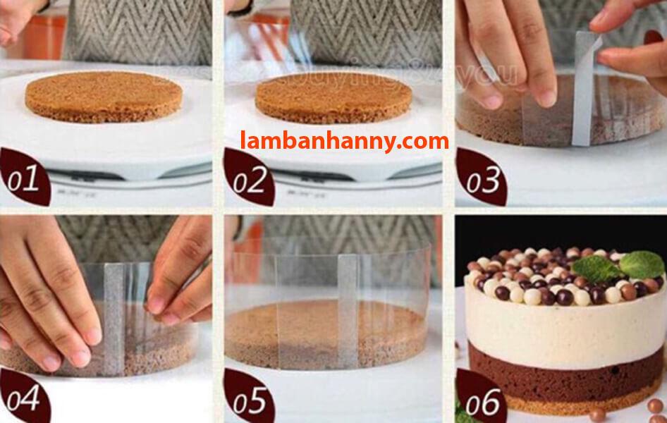 Sử dụng cuộn mica vô cùng đơn giản
