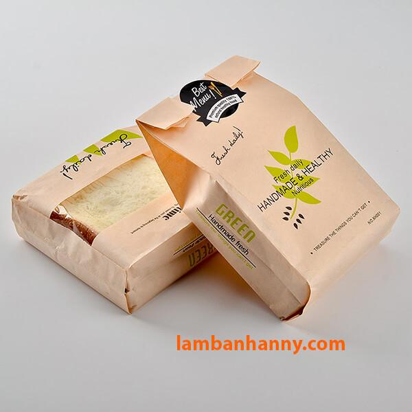 Túi thích hợp đựng các loại bánh cỡ 450-500g