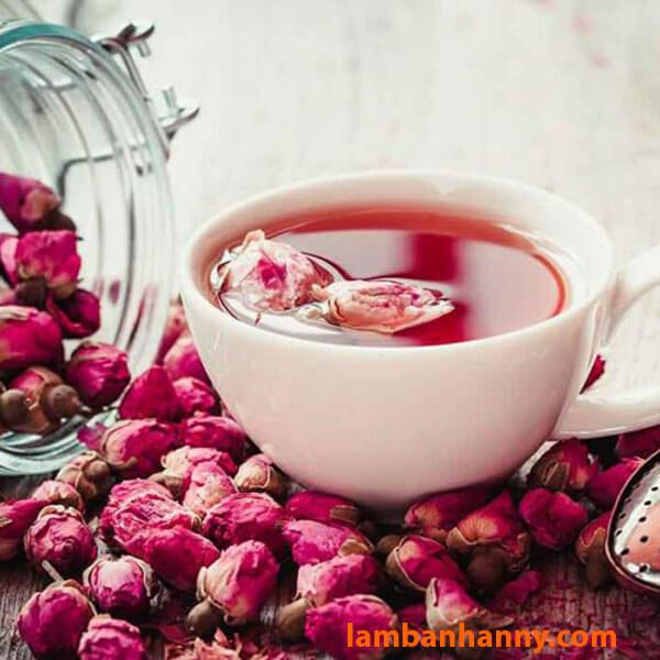 Trà hoa hồng giúp giảm cân, thanh lọc cơ thể