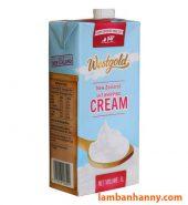 Kem tươi Whipping Cream Westgold 1L