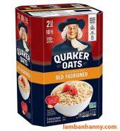 Yến mạch ông già Quaker Oats Mỹ 4.5kg