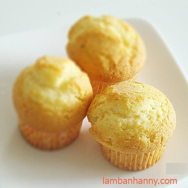 bánh muffin hương vani
