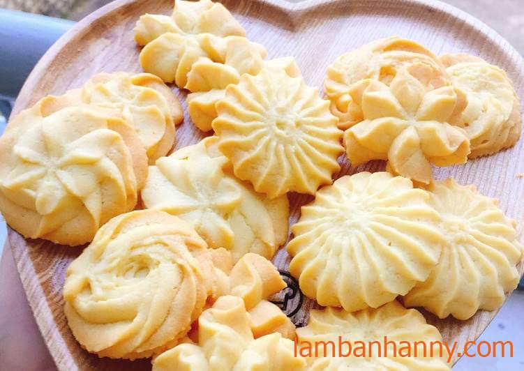 Cách Làm Bánh Quy Bơ, Thơm, Mềm, Mịn Giòn Tan Ngay Tại Nhà| Những Chiếc Bánh Ngọt Ngào Đến Từ Châu Âu