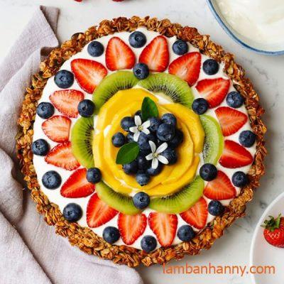 bánh tart nhân kiwi