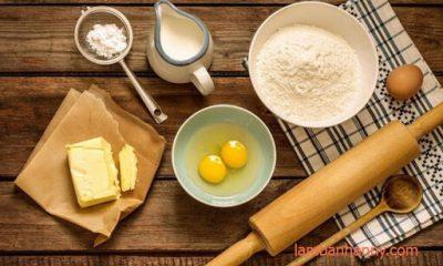 bột làm bánh bông lan