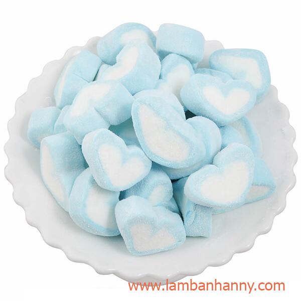 kẹo dẻo marshmallows hình trái tim
