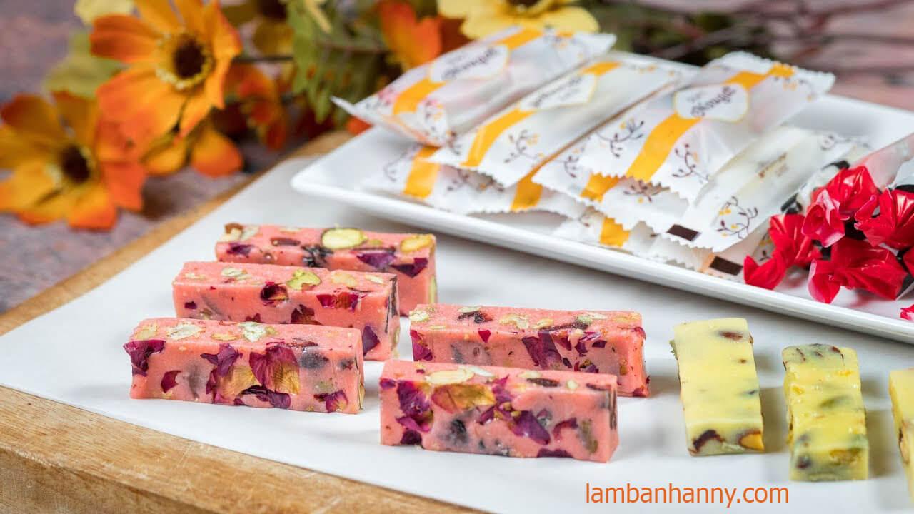 Cách làm kẹo nougat ngon miệng dễ làm cho các đầu bếp tại gia ngày tết